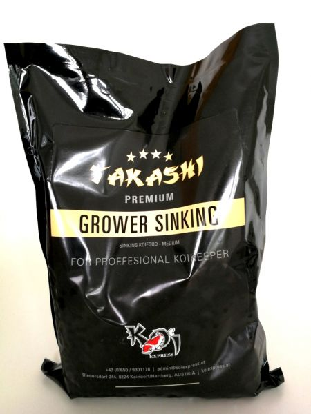 TAKASHI Premium Grower sinking, 6mm im Alusack, 1/10kg